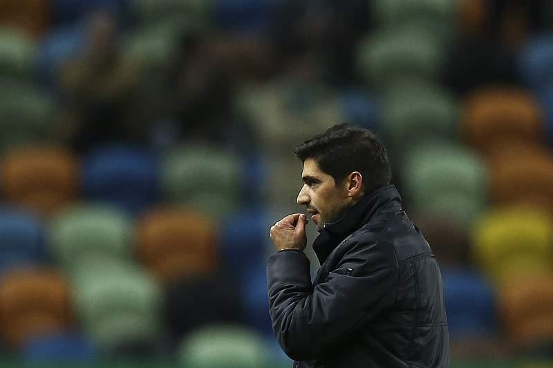Abel Ferreira, treinador do SC Braga