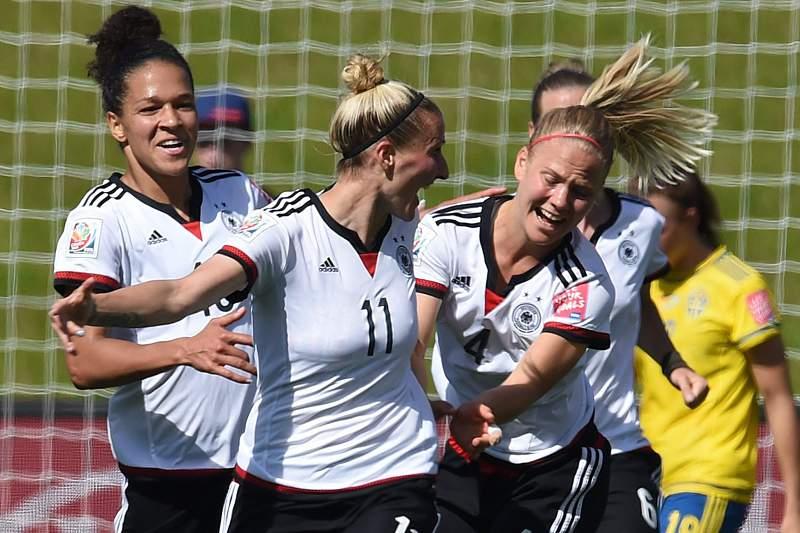 Futebol feminino:Alemanha goleia Suécia