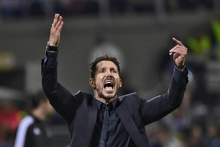 Diego Simeone, treinador do Atlético Madrid