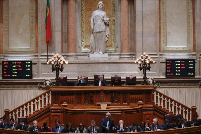 Debate quinzenal na Assembleia da República.