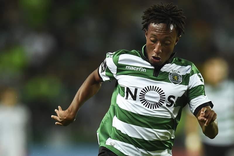 Gelson Martins em ação