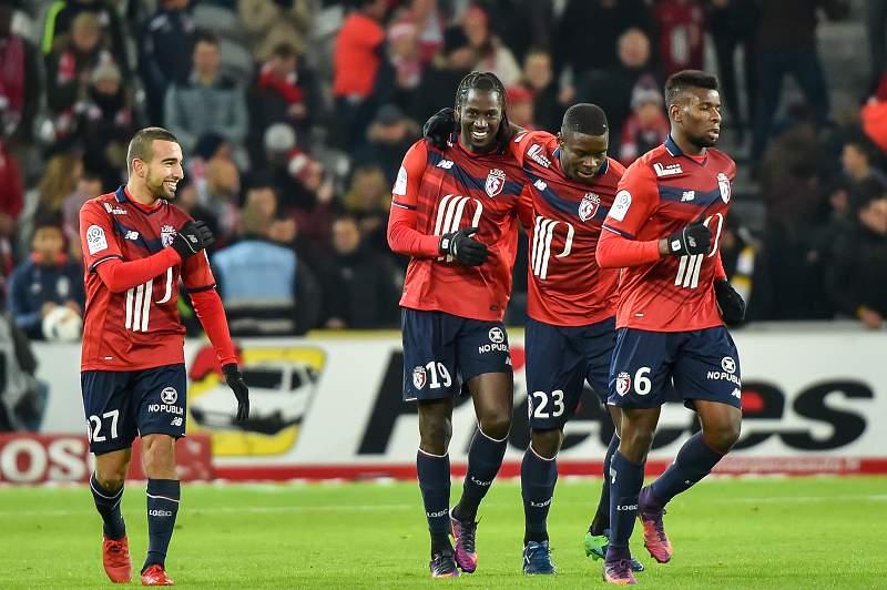 Eder festeja golo pelo Lille