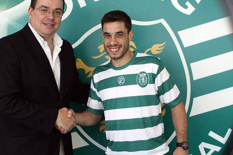André Sousa reforçou esta época o Sporting depois de conquistar a Taça de Portugal ao serviço do Fundão