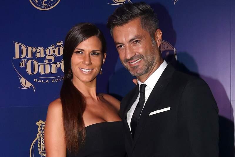 Andreia Santos e Vítor Baía