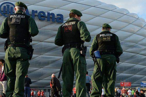 Segurança apertada no Bayern Munique - Real Madrid