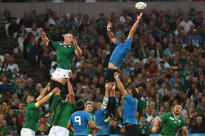 Irlanda venceu Itália por 16-9