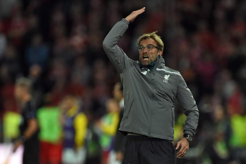Jurgen Klopp derrotado na final do Liverpool