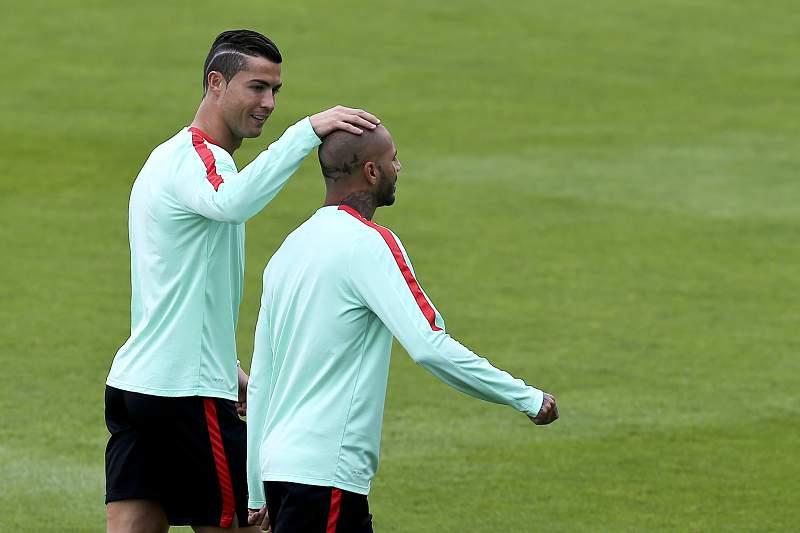 Cristiano Ronaldo e Ricardo Quaresma