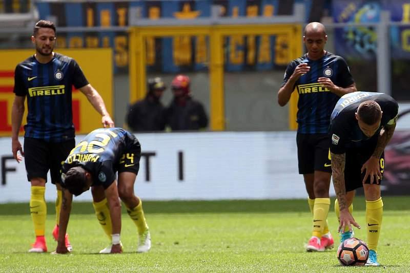 Jogador do Inter desiludidos