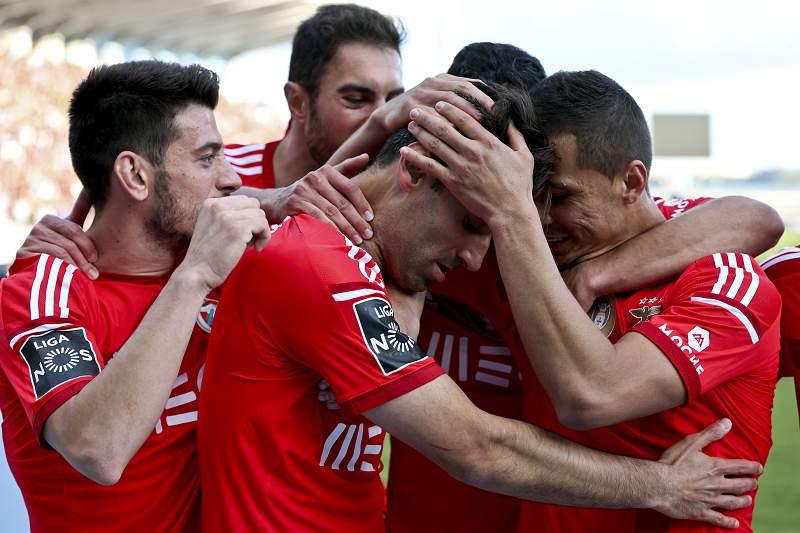 Jonas marca no Belenenses-Benfica
