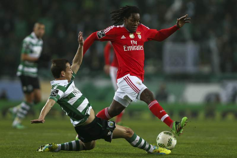 Sporting-Benfica: Renato Sanches e João Pereira