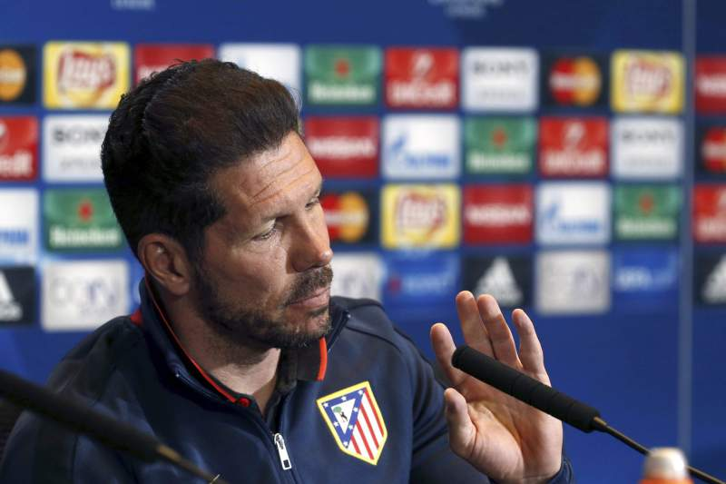 Atletico Madrid press conference
