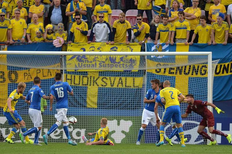 Euro Sub-21: Itália - Suécia