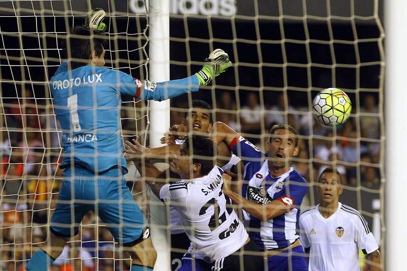 Valência empata em casa com o Deportivo da Corunha