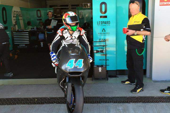 Miguel Oliveira, em Moto2