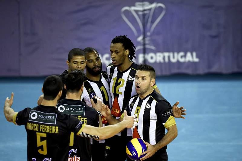 Voleibol: Taça de Portugal seniores masculinos