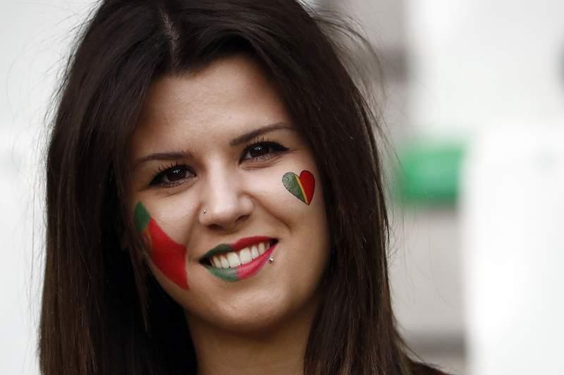 Adepta da seleção de Portugal