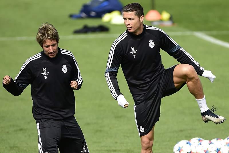 Coentrão e Ronaldo