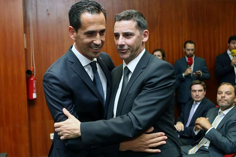 Pedro Proença e José Mendes