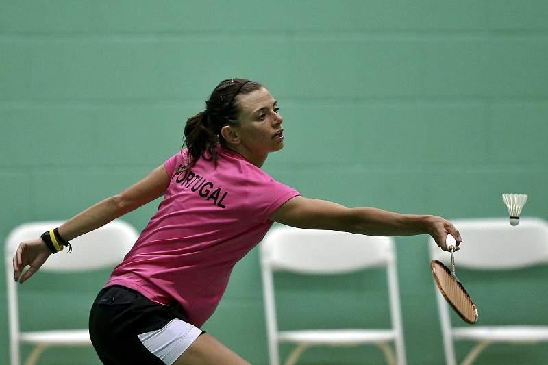 Badminton: Telma Santos