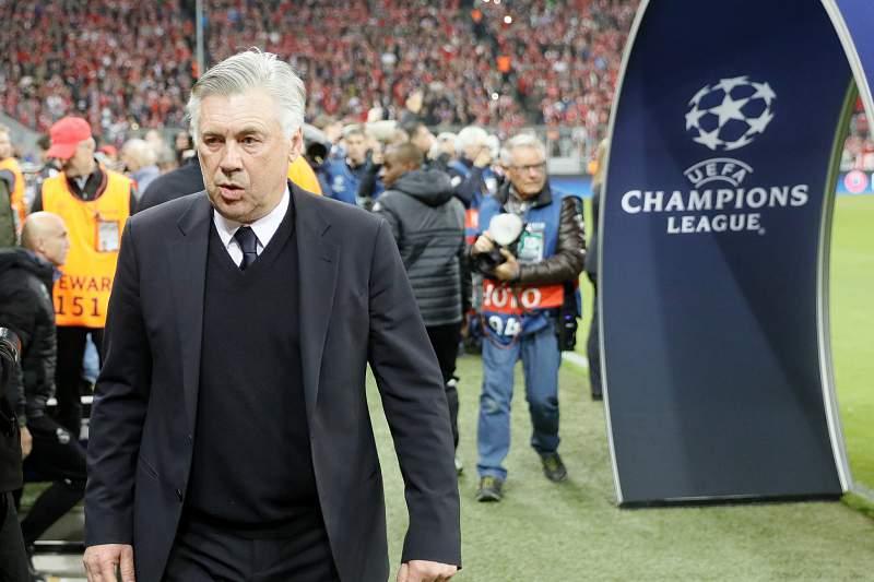 Carlo Ancelotti ficou desiludido com o resultado com o Real Madrid em Munique