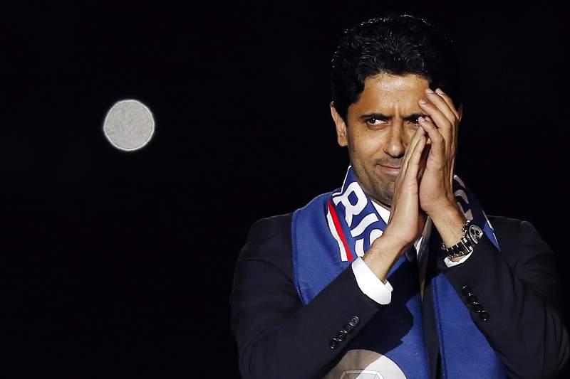 Nasser al-Khelaifi, presidente do Paris Saint-Germain