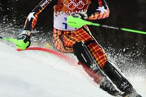 Esquiador timorense conclui prova de slalom em 44