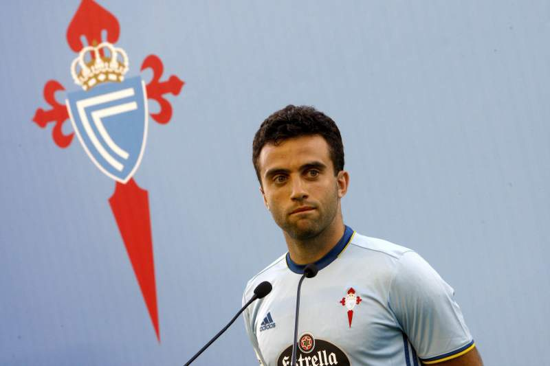 Giuseppe Rossi, jogador do Celta de Vigo