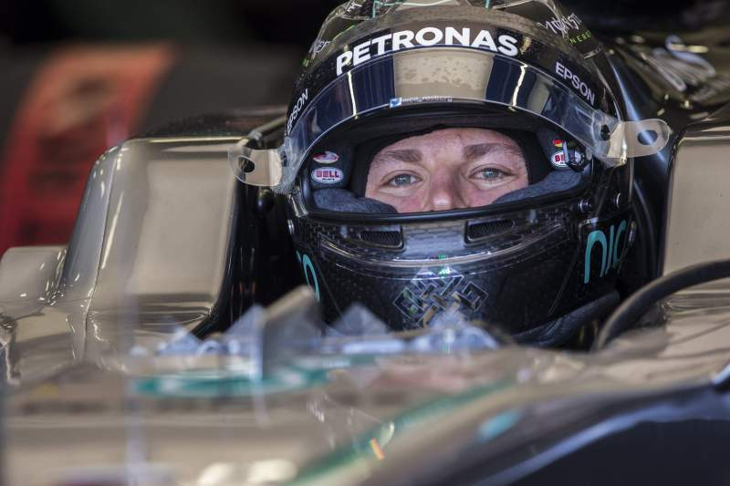 Rosberg venceu em Baku em 2016