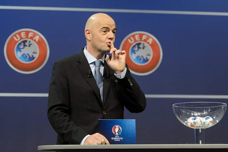 Gianni Infantino, secretário-geral da UEFA