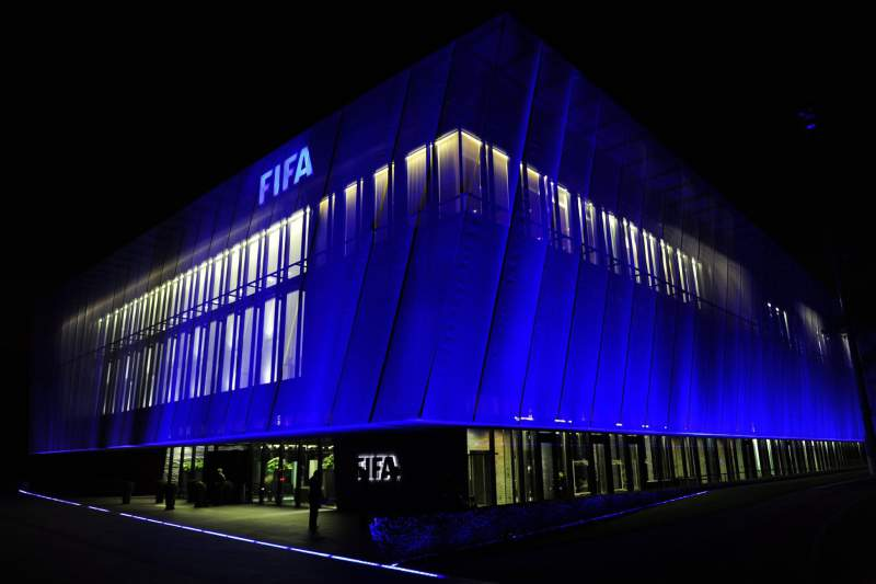File - FIFA headquarter in Zurich