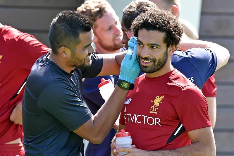 Mohamed Salah, jogador do Liverpool