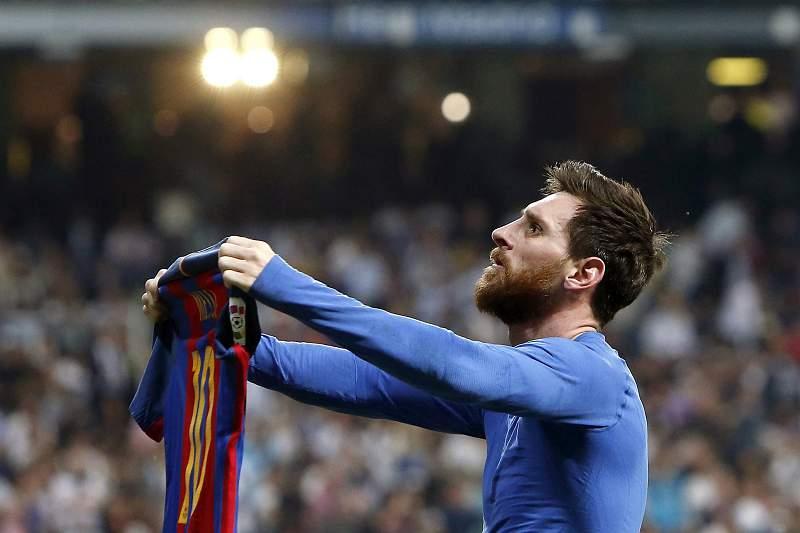 Messi marca golo da vitória frente ao Real Madrid