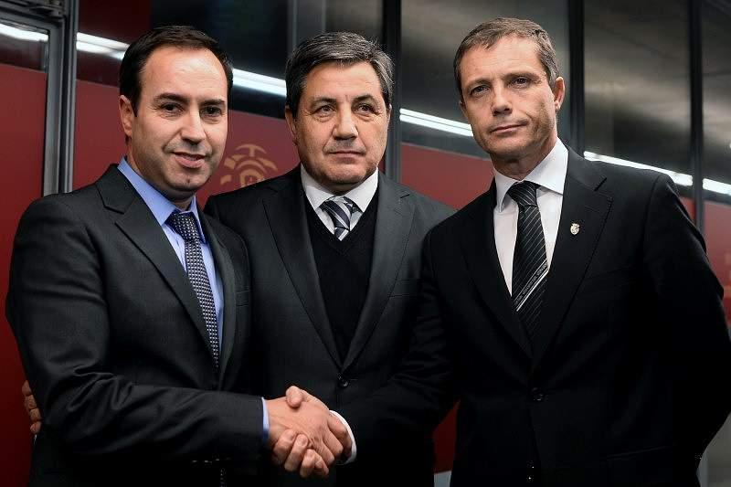 Júlio Mendes, António Salvador e Fernando Gomes