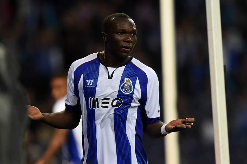 Vincent Aboubakar marcou um dos golos na goleada ao Estoril-Praia