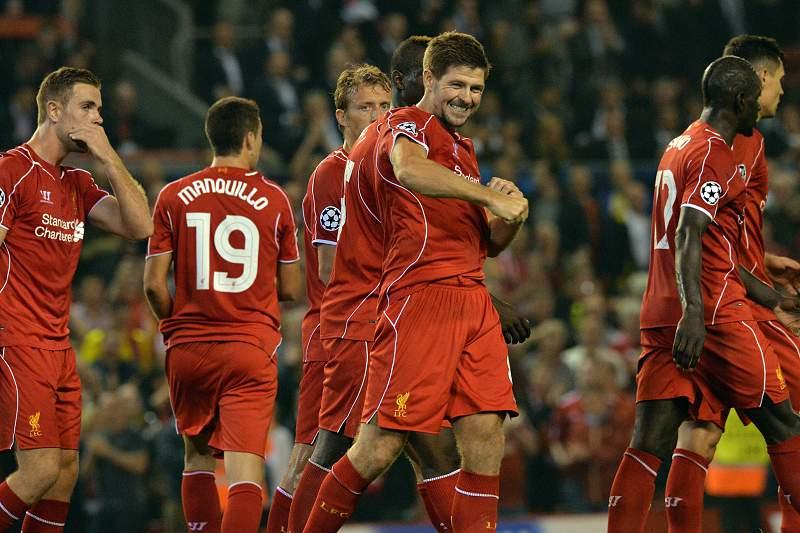 Liverpool festeja golo