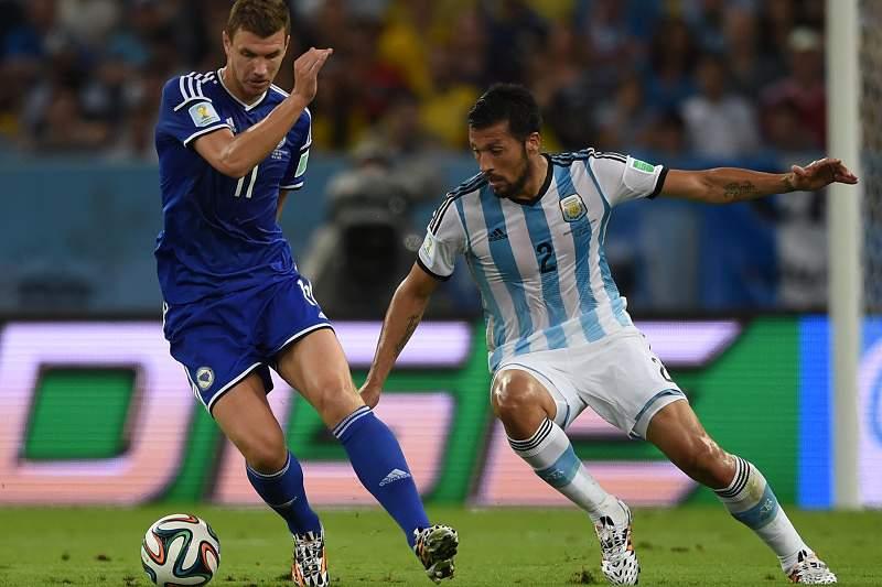 Argentina-Bósnia Mundial2014