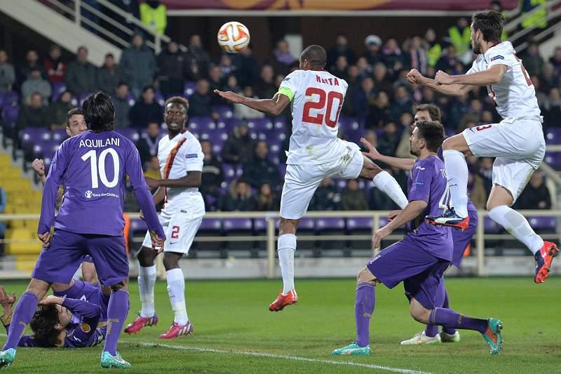 Keita marcou o golo da AS Roma