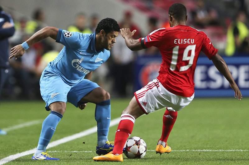SL Benfica vs FC Zenit Saint Petersburg