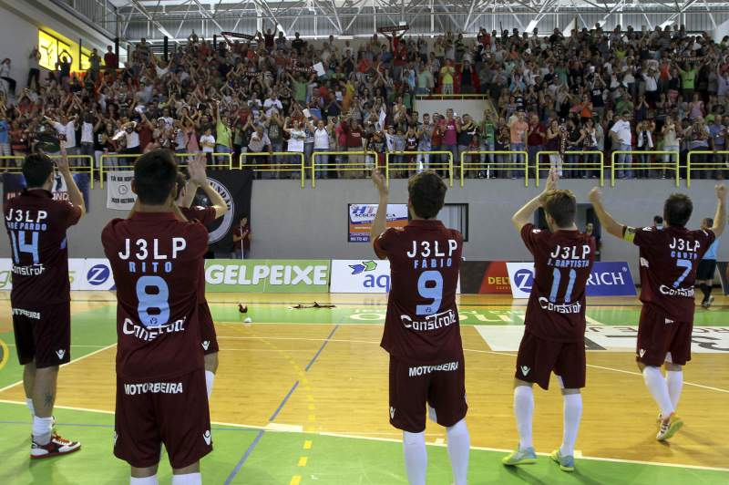 Equipa de futsal do Fundão