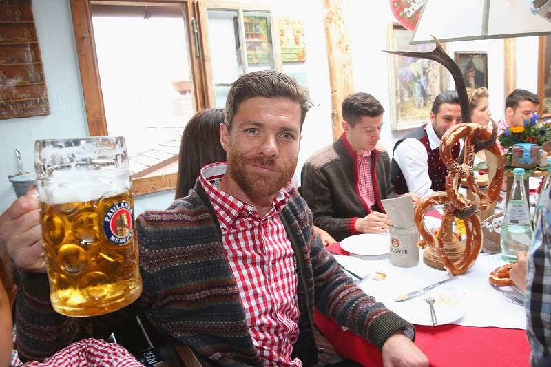 Xabi Alonso na Oktoberfest