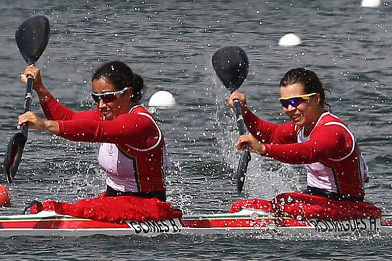 Beatriz Gomes e Helena Rodrigues