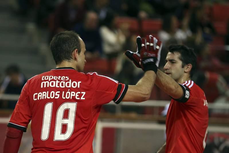 Carlos Lopez renovou contrato com Benfica