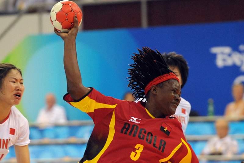 Ilda Bengue nos tempos da seleção angolana