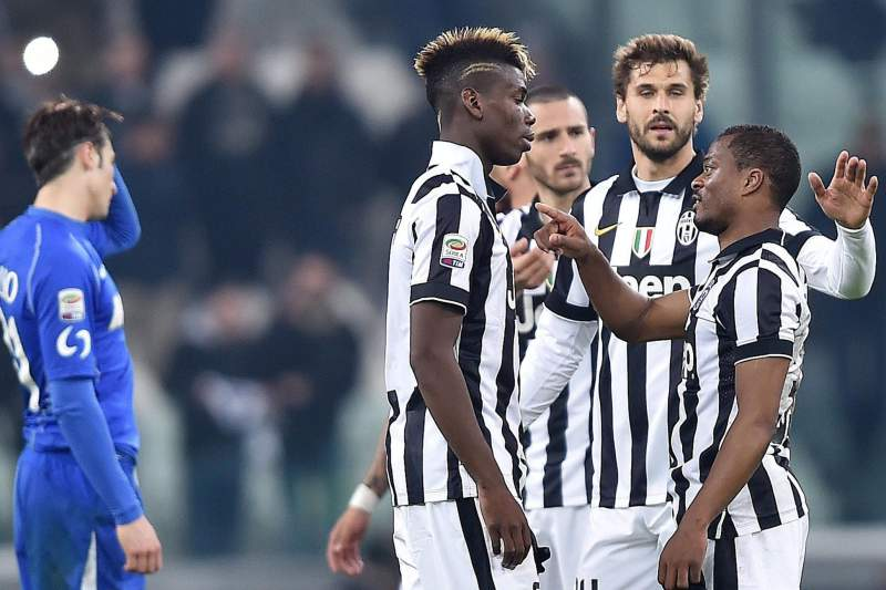 Pogba celebra vitória da Juventus
