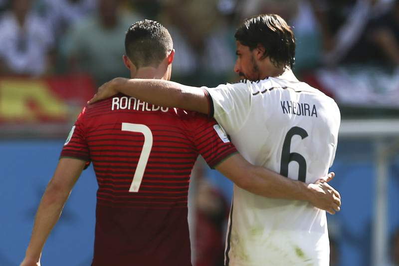 Soccer World Cup 2014: Portugal vs Germany