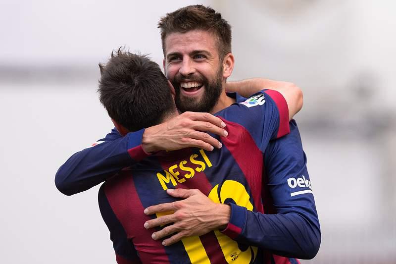 Messi e Piqué