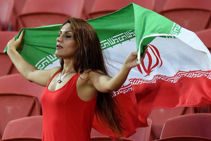 Adepta do Irão num jogo da Taça da Ásia