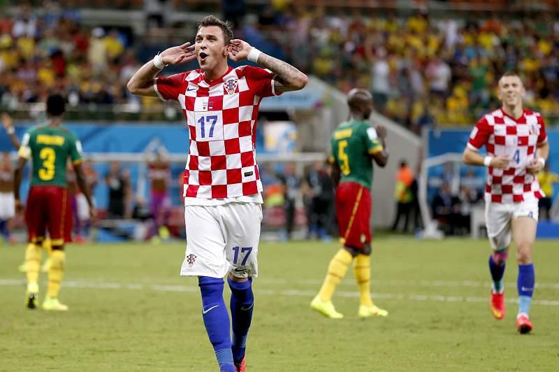 Mandzukic na seleção da Croácia