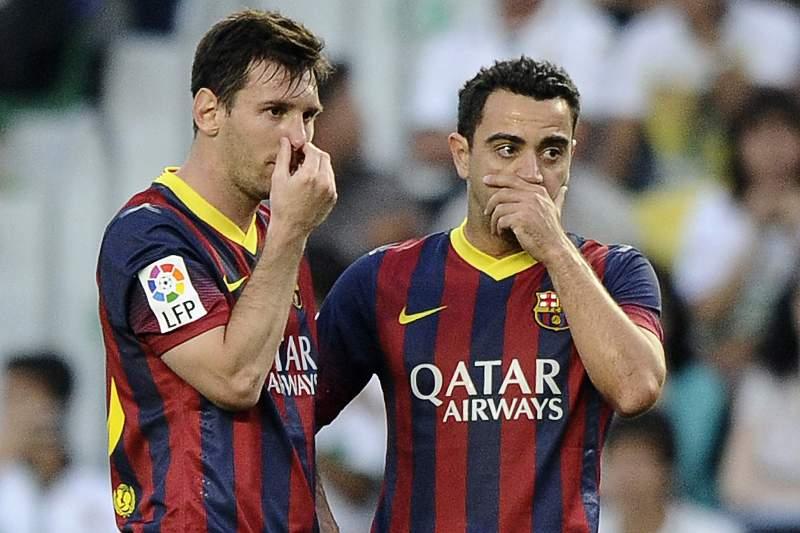 Messi e Xavi